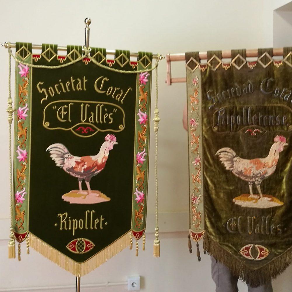 Societat Coral El Vallès, réplica de un original