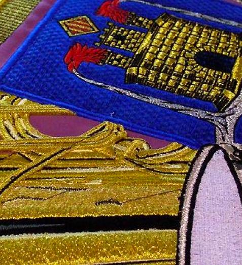 Banderas bordadas personalizadas