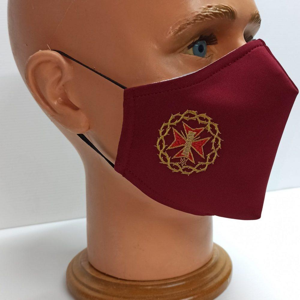 mascarillas bordadas personalizadas