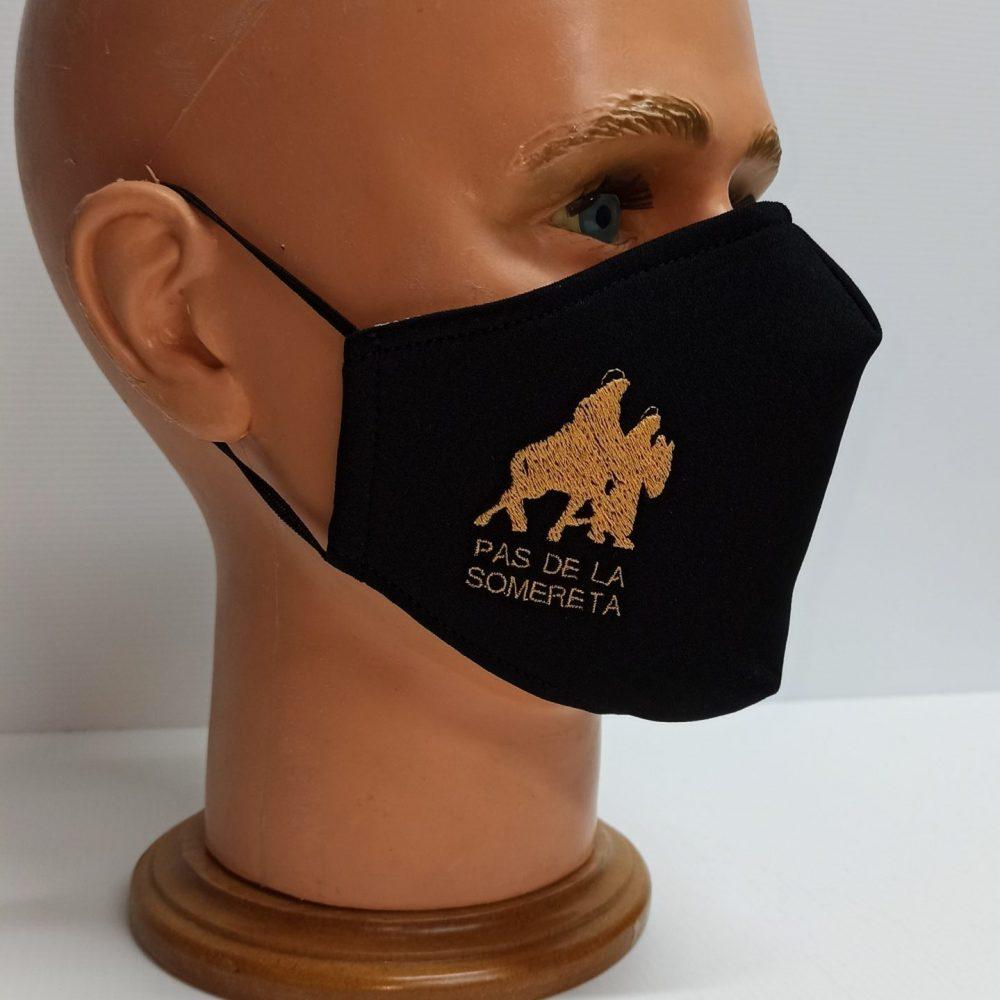 mascarillas bordadas para colectivos