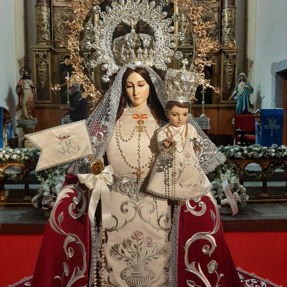 Vista Frontal Virgen del Rosario, Torrejón de Ardoz